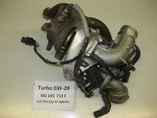 VW Audi Seat 2,0 TSI TFSI Turbocompresor 06j145713f Turbo Cargador Golf 6 Q3 A3