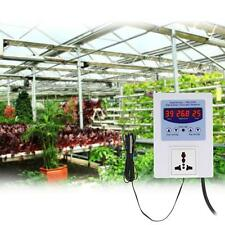 LED Digital Intelligent Pre-wired Temperature Controller Thermostat with Sensor