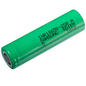 Samsung 25R INR Rechargeable Battery Flat top Battery