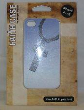 Pangea Brands Faith Case Cross Rosary Design iPhone 4 4S Ridged Case *New