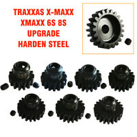 Traxxas X-Maxx XMAXX 6S 8S Upgrade Harden Steel 15/16/17/18/19/20/21T Motor Gear
