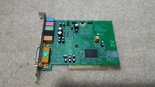 Chaintech AV512-A C-Media CMI8738 6Ch PCI Sound Card with Game Port