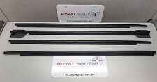 Toyota Sequoia 08-16 Door Belt Moulding 4pc Kit Set Weatherstrip Genuine OEM OE