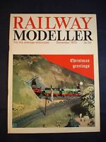 1 - Railway modeller - December 1970 - Contents page shown in photos