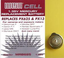 Fűr Belichtungsmesser Gossen Lunasix 3 Luna Pro S - WeinCell MRB 625 Batterie