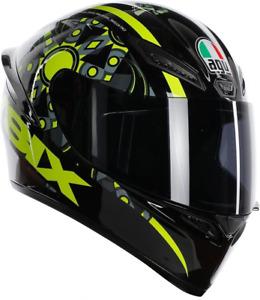 AGV K1 Top Flavum 46 Casco Integrale Moto Valentino Rossi Helmet Scooter