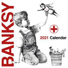 Banksy  Calendar 2021  Premium Quality RARE