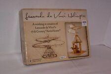 "LEONARDO DA VINCI HELICOPTER 15th CENTURY ""AERIAL SCREW"" - NIB"
