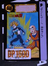 DRAGON BALL GT Z DBZ HONDAN PART 15 CARDDASS BP CARD CARTE 593 JAPAN 1993 NM