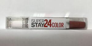 Maybelline SuperStay 24HR Wear Lip Color-115 Forever Chestnut