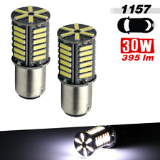 1157 400 LM 36-SMD High Power LED 8000K Cool White Brake Tail Stop Light Bulbs