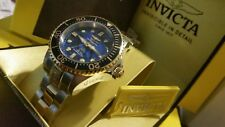Invicta Unisex 38mm Grand Diver Automatic Abalone BLue Dial  Diamond Watch,New