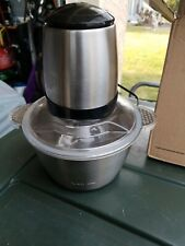 Meat grinder electric stainless steel 2.0 l new in box