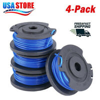For Greenworks Weed Eater 29252 29092 .065 Trimmer Spool Line 3411546A-6 4Pack