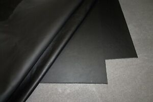 Lederreste Nappaleder Lederstücke schwarz Lederzuschnitte Möbelleder 1,2-1,4 mm