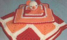 Baby Girls' 100% Wool Crochet Nursery Blankets & Throws