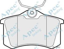 Apec PAD1020 Brake Pads (Rear) - fits VW/Audi/Seat & Skoda Lucas Calipers