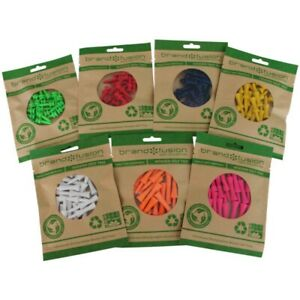 Wooden Graduated Castle Golf Tees All Sizes/Colours, Biodegradable, Plastic Free