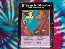 JOHN LEE HOOKER The Greatest Hits Of UNITED SUPERIOR 8-Track Tape Cartridge NEW