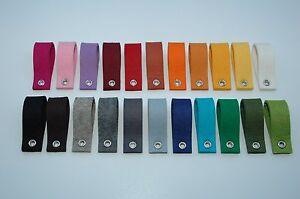 Filz Schlüsselanhänger ohne Aufdruck, Rohling - Wollfilzqualität ! 22 Farben