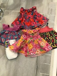 Baby Alive Doll Clothing/Dresses & Diaper- 5 Pcs