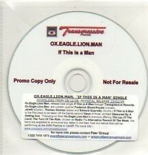 (105L) OX.Eagle.Lion.Man, If This Is A Man - DJ CD