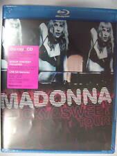 Madonna Sticky & Sweet Tour blu-ray + CD NEW ALL REG.