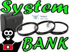 Filtre Bonnettes kit lentille Bonnette macro +4 +8 +10 58mm CANON EOS 550D 500D