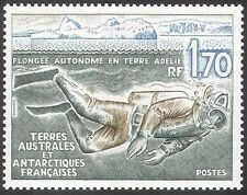 FSAT/TAAF 1989 SCUBA Diver/Research/Marine/Diving/Sea Life/Nature 1v (n23067)
