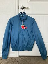 NEW w/ Tags Vespa Gray Blue Zippered Jacket Size S