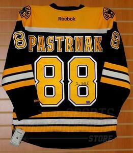 David Pastrnak Boston Bruins Signed Autographed Bruins Home Hockey Jersey