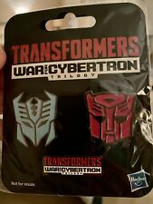 Transformers War For Cybertron Pin Set NEW.
