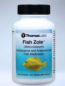 Fish Zole 60x250mg Aquarium Treatment