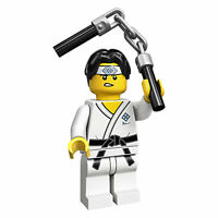 Lego Martial Arts Boy 71027 (aka Karate Kid) Series 20 Minifigure