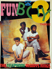 FUN BOY 3 THREE THE TELEPHONE ALWAYS RINGS 1982 MAGAZINE LYRICS PAGE