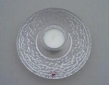 More details for orrefors glass sweden discus votive candleholder lars hellsten