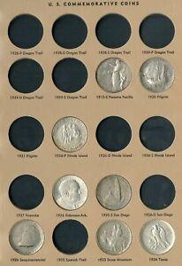 US Starter Set of Silver Commemorative Half Dollars Lot of 30 Coins 2 Albums