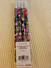 Vera Bradley Mechanical Pencil Set Hilo Meadow New Gift Box Lot of 4
