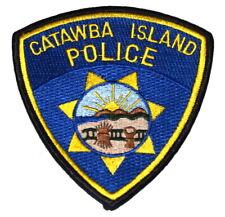 CATAWBA ISLAND OHIO OH Sheriff Police Patch STATE SEAL SUNRISE MOUNTAINS FARM ~