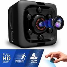 Mini Spy Camera 1080P Hidden Camera | Portable Small Hd Nanny Cam With Night Vis