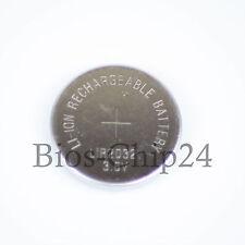 LIR2032 Batterie Knopfzelle, 3,6V Rechargeable 45mAh Akku Battery, Batteria