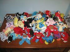 Lot 45 NEOPETS, Plush Animal Toys, McDonalds, Clips, Baby Scorchio + Blumaroo