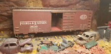 Ho Nyc 40' Boxcar #3638 Weathered W/Crate Load