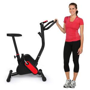Vélo d´appartement elliptique ergomètre cardio fréquence pliable compact