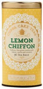 Lemon Chiffon Cuppa Cake Tea by The Republic of Tea, 36 tea bags