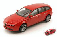 Coche Auto Escala 1:24 Welly Alfa Romeo 159 Sportwagon miniaturas diecast
