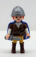 KINDER RITTER PRINZ PLAYMOBIL zu Helm Schwert Gürtel Umhang Hobbit Rote Haare