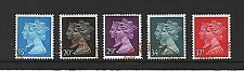"GB Stamps 1990 Machin Definitive ""Double Heads"" Issue set - Fine used"