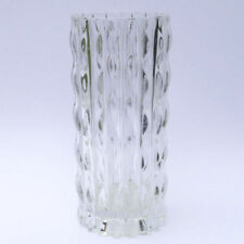 Clear Vintage Original Mid-Century Modern Art Glass