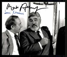 Mario Adorf und Hans Clarin Original Pressefoto Original Signiert ## G 11270